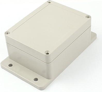 Aexit 115 x 90 x 55 mm Caja de empalme de potencia de caja de plástico a prueba de agua a (model: K6553IVVIII-4579LP) prueba de agua: Amazon.es: Bricolaje y herramientas