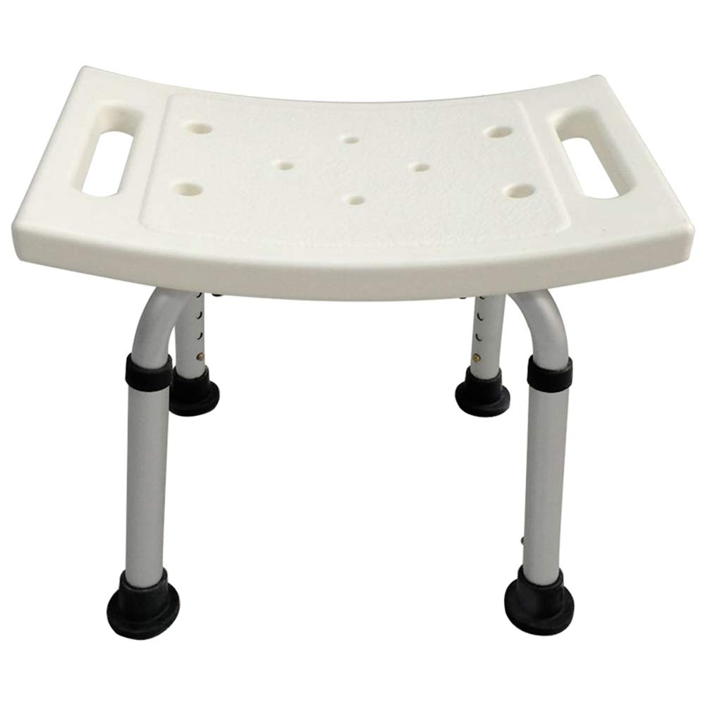 XRX Shower Bath Chair Seat Stool Transfer Bench Seat, SPA Bathroom Bathtub Chair with Non-Slip Feet for Elderly Senior Handicap Disabled Adjustable Shower Stool Lightweight