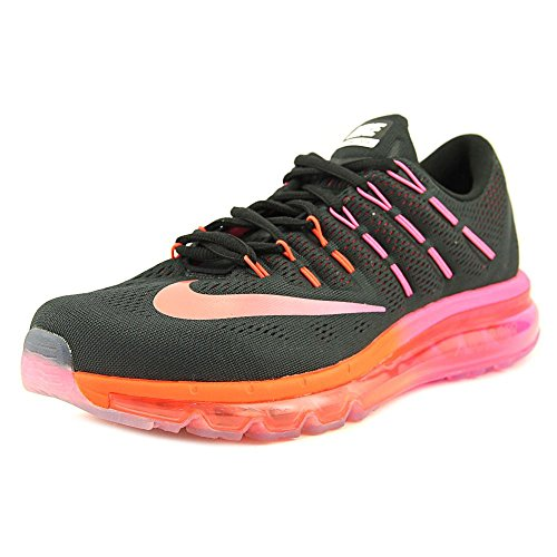 NIKE Nike Womens Air Max 2016 Running Shoes Black/Multi Colo Noble Red 806772-006 Size 9 price tips cheap