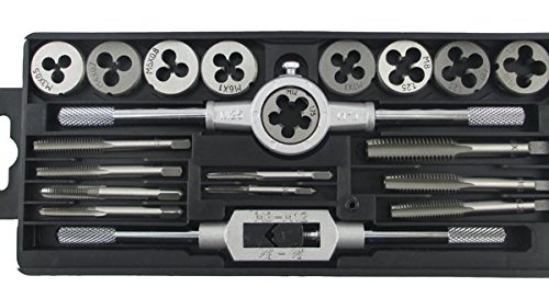 Taps Banya suite of hardware tools wrench hand tapping die cutter hand tapping metric combination set 20 mounted