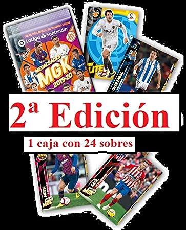 MGK ¡¡¡ 2 ª edición!!! 1 Caja 24 Sobres Megacracks LaLIGA 2019 2020: Amazon.es: Juguetes y juegos