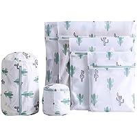 YARNOW 6pcs Laundry Bags Fine Mesh Zipper Underwear Wash Bags Laundry Blouse Hosiery Stocking Underwear Bra Lingerie…