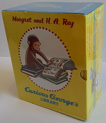 Set Hardback Boxed - Curious George's Library Box Set 12 Hardback Books