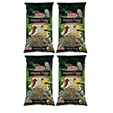 Kaytee Waste Free Finch Bird Seed Blend, 8-Pound (4 pack)