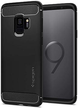 Spigen® [Rugged Armor Funda Galaxy S9 con Absorción de Choque ...