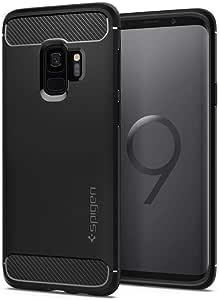 Spigen Coque robuste pour Samsung Galaxy S9 (2018) – Noir mat ...
