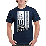 zipstore Jeep USA Flag T-Shirt for Men Women Love Jeep Car Proud of Country