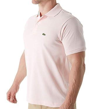 3d64d4141b0980 Lacoste Men s Short Sleeve Classic Pique Polo