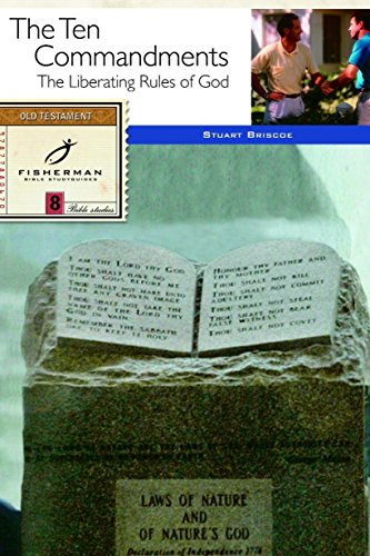 The Ten Commandments: The Liberating Rules of God (Fisherman Bible Studyguide Series) (Bible Verses To Go With Candy Bars)
