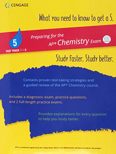 - Fast Track to a 5 Test Prep for AP Chemistry