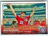 Max Scherzer baseball card (Washington Nationals) 2015 Topps #US169 No Hitter