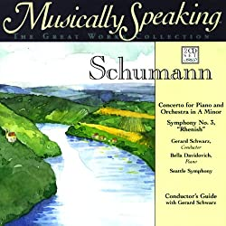 Conductor's Guide to Schumann's Concerto for Piano and Orchestra in A Minor & Symphony No. 3