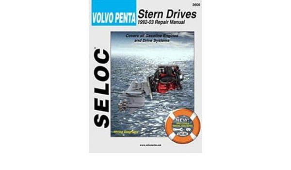 sl3606 seloc volvo penta stern drive 1992 2002 boat engine repair rh amazon com Volvo Penta Lower Unit Volvo Penta Wiring Harness