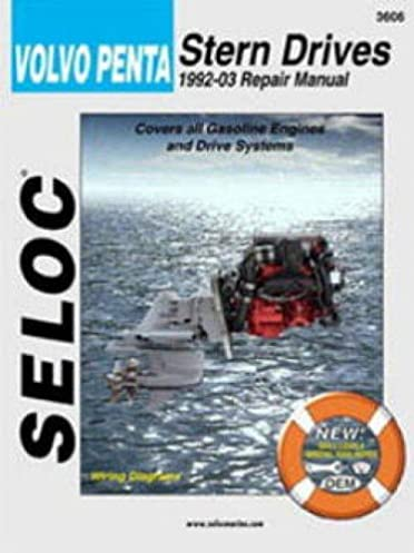 sl3606 seloc volvo penta stern drive 1992 2002 boat engine repair rh amazon com boat motor repair manuals boat motor repair manual online