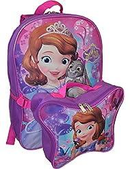 Disney Princess Sofia Backpack W/ Detachable Lunch Box