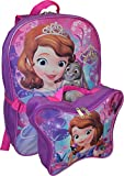 "Disney Princess Sofia 16"" Backpack W/ Detachable Lunch Box"