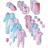 Gerber Baby Girls' 26 Piece Essentials Gift Set