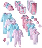 #10: Gerber Baby Girls' 26 Piece Starter Gift Set