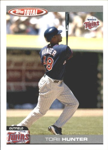 - 2004 Topps Total Team Checklists Baseball Card #TTC17 Torii Hunter
