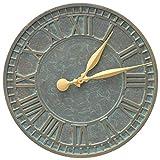 Whitehall Geneva 16'' Indoor Outdoor Wall Clock