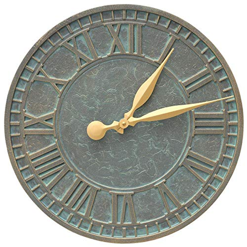 Whitehall Geneva 16'' Indoor Outdoor Wall Clock by Whitehall (Image #1)