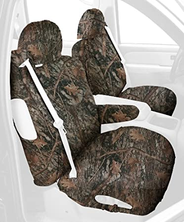 Covercraft Custom-Fit Front Bucket SeatSaver Seat Covers Polyester Fabric Conceal Green SS3353TTCG