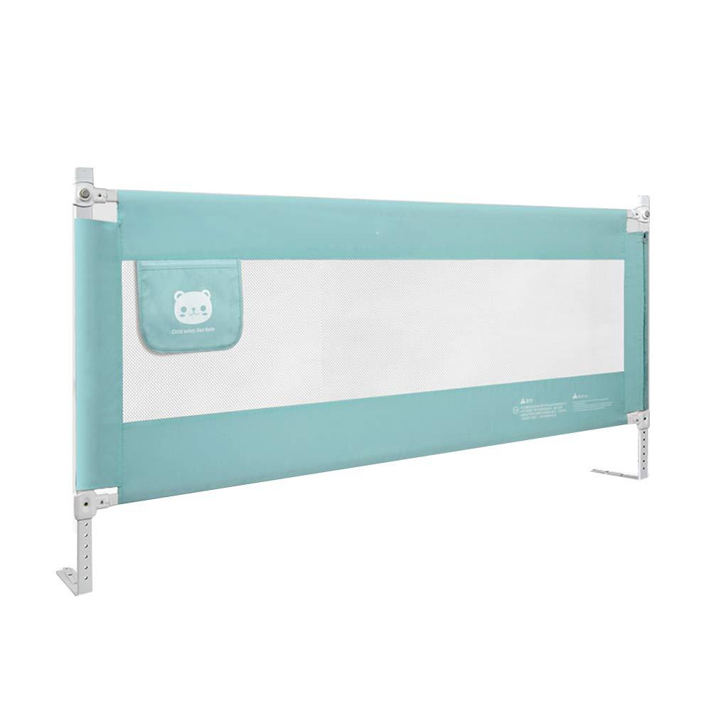 XIAOMEI,安全フェンス 赤ちゃんのアンチフォールズベッドガードレール-8ファイル調整子供部屋バッフル - (3色)1.5-1.8-2メートル ベッドの手すり (色 : C, サイズ さいず : 1.5M) 1.5M C B07L3RZHCY