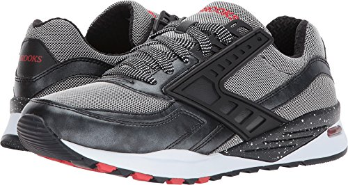 Brooks Heritage Mens Regent Moonless Night/Black Metallic/Silver/Fiery Red 7.5 D US ngOnLzV