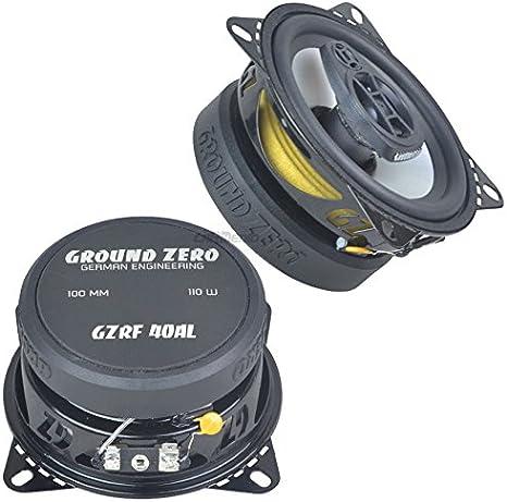 Vw T4 90 03 Ground Zero Lautsprecher Boxen 100mm Koax Armaturenbrett Elektronik