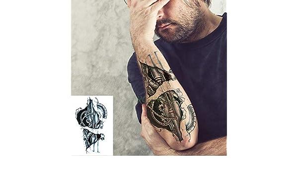 Handaxian 3 Piezas Etiqueta de Tatuaje a Prueba de Agua Tótem ...