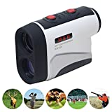 Digital Laser Rangefinder Scope|High accuracy, Pin Seeking, Slpoe Function, Short Measuring Time|Perfect for Golf ,Hunting and Racing - M&H