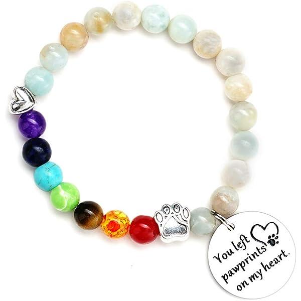 Rainbow Bridge Loss of Pet Pet Loss Rainbow charm Friendship bracelet