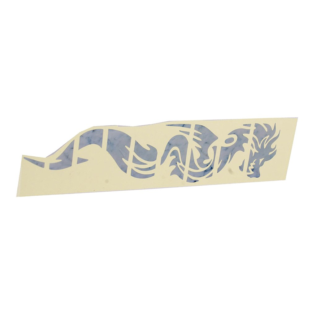 Dovewill Chinese Dragon Neck Fretboard Decal Stickers Compatible FOR Electric Acoustic Guitar Accessory