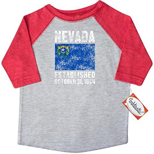 inktastic-little-boys-established-october-31-1864-nevada-flag-toddler-t-shirt-2t-heather-and-red