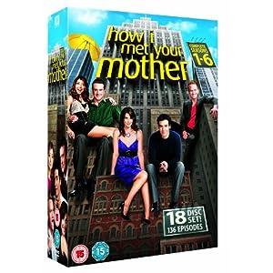 519Fj1GYrjL. SL500 AA300  [Amazon UK] How I Met Your Mother   Season 1 6 [DVD] für nur 38,58€ inkl. Versand