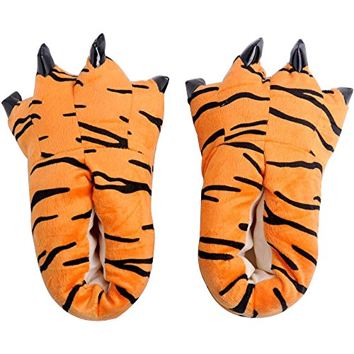 Dinosaurs Winter Soft Color Shoes Female Warm Claws Slippers Super Flannel Plush Cartoon Eastlion 8 Home qRwAfEH