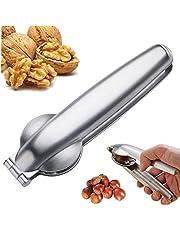 VANUODA New Creative Nutcracker Chestnut Clip, Nut Cracker Sheller Walnut Pliers, Metal Nut Opener Plier, Multifunctional 304 Stainless Steel Kitchen Tools, Ergonomic Design