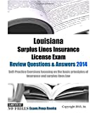 Louisiana Surplus Lines Insurance License Exam Review Questions and Answers 2014, ExamREVIEW, 1501054767
