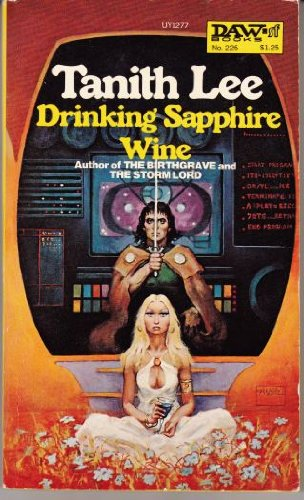 book cover of Drinking Sapphire Wine