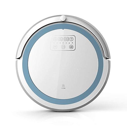 RANRANJJ Aspiradora Robot, 360 ° Sensor Inteligente Protectio ...