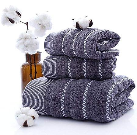 HMOS Asciugamano da Bagno in Microfibra di Cotone Asciugamano da Bagno ad Asciugatura Rapida Asciugamano da Bagno Asciugamano da Bagno 1 Asciugamano da Bagno+2 Asciugamani da Bagno