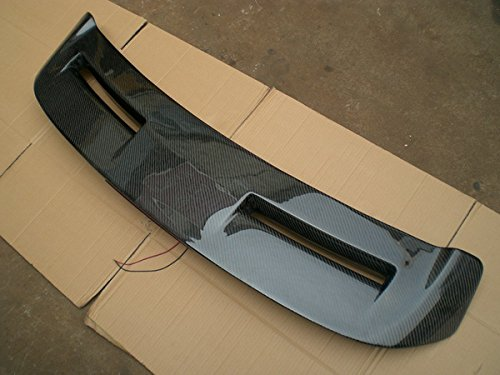 Carbon Fiber Rear Spoiler For Ford Fiesta 2008-2012