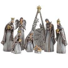 RAZ Imports - 12.5 Nativity Scene Display Pieces by RAZ Imports