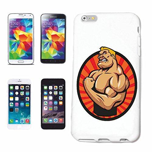 caja del teléfono iPhone 7+ Plus Bodybuilder CULTURISTA GYM PESO DE FORMACIÓN GYM muskelaufbau SUPLEMENTOS DE PESAS Caso duro de la cubierta Teléfono Cubiertas cubierta para el Apple iPhone en blanc