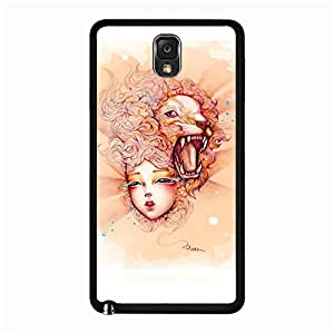 Samsung Galaxy Note 3 N9005 Case,Zodiac Case,Attractive Zodiac Series Leo Premium Exquisite Printed Hard Phone Case for Samsung Galaxy Note 3 N9005