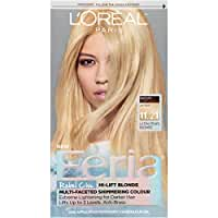 L'Oreal Paris Feria Multi-Faceted Shimmering Color, 11.21 Bad to the Blonde (Ultra Pearl Blonde)