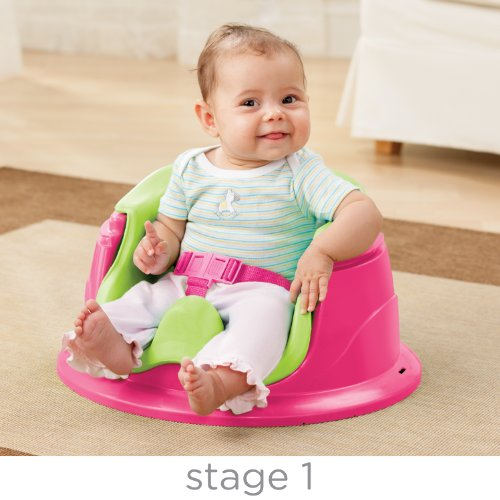 Summer Infant 3-Stage SuperSeat Deluxe Giggles Island Positioner, Booster and Activity Seat for Girl by Summer Infant (Image #1)