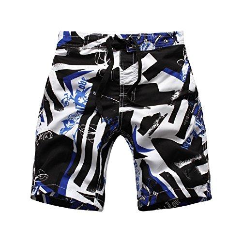 Color Guard Costumes For Sale (Vicvic Polyeste Boy Beach Short Boardshorts 3 colors (M, D03XC03))
