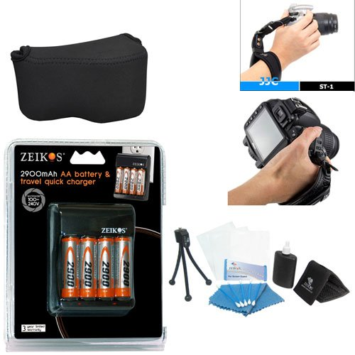 PRO Kodak PIXPRO AZ252 & AZ401 Digital camera Accessory Kit With Case , Battery , Charger +