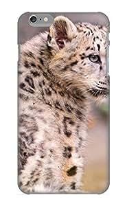 Design For Iphone 6 Plus Premium Case Cover Animal Snow Leopard Protective Case